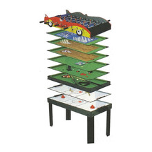 Spartan 10 in 1 Game Table