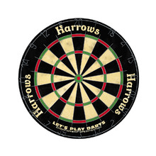 Harrows Let's Play Darts Sisal Dartscheibe