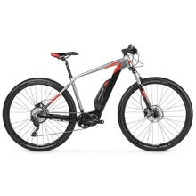 "Kross Level Boost 1.0 29"" - model 2019 E-Mountainbike - Black / Graphite / Red Matte"
