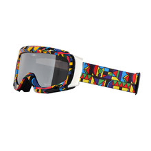 Ski Goggle WORKER Cooper with Graphic Print - farbige Grafik