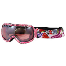 Ski goggles WORKER Molly with graphics - rosa / Grafik