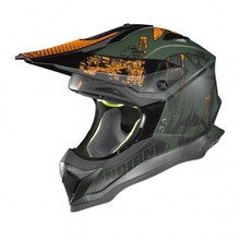 Motocross-Helm Nolan N53 Cliffhanger - Flat Military Green