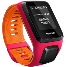 TomTom Sporttester Runner 3 Cardio + Music - rosa-orange