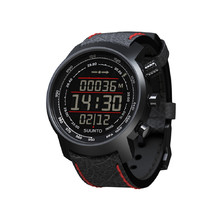 Suunto Elementum Terra N/ Black/Red leather Outdoorcomputer - schwarz-rot
