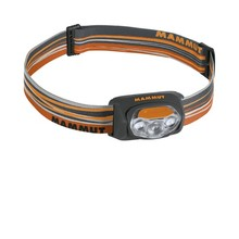 Stirnlampe MAMMUT T-Peak - orange-grau