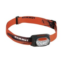 MAMMUT T-Trail Stirnlampe - schwarz-orange