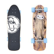 "Fish Old School Cruiser Turtle 28"" Mini Longboard"