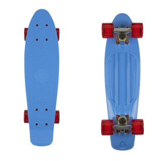 "Fish Classic 22"" Penny Board - Blue-Silver-Red"